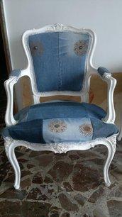 sedia poltrona anni 60