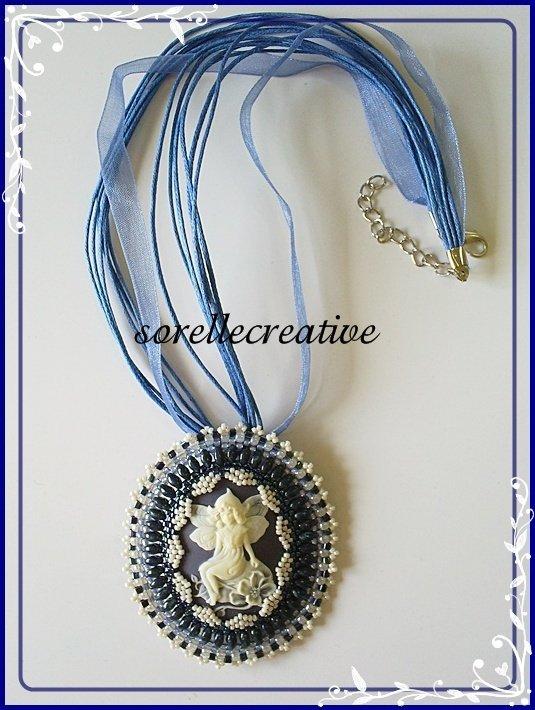 Cammeo fatina blu