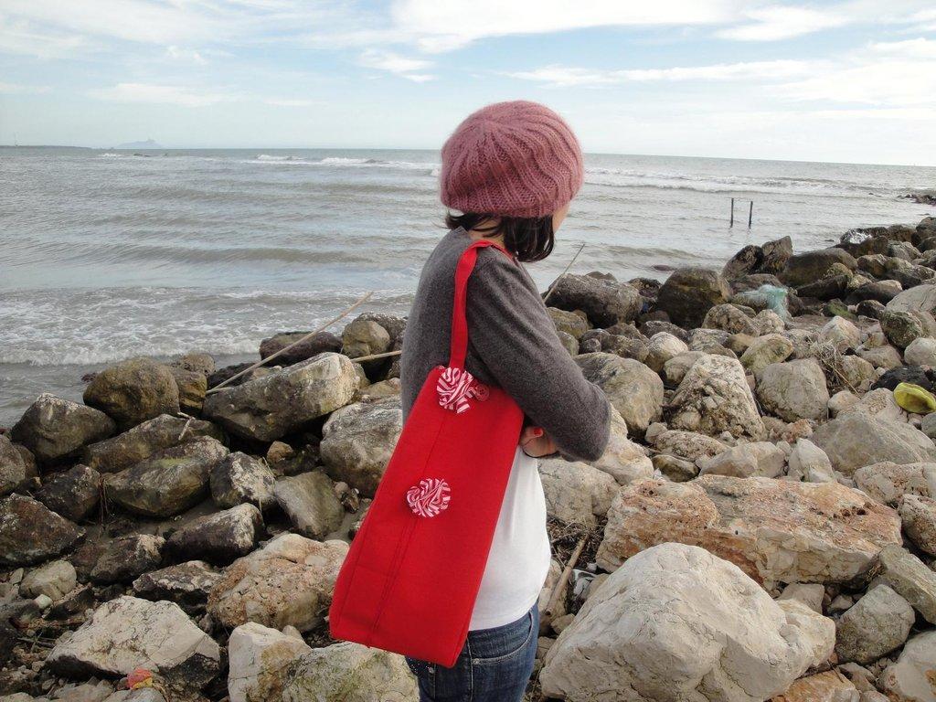"""""""Il mio mare in una borsa""""  handbag"""