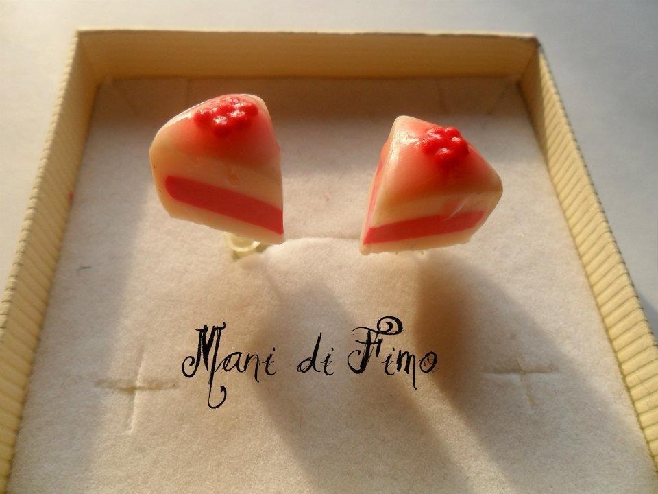 orecchini fette cheesecake