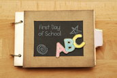 "Mini album ""First day of school"""