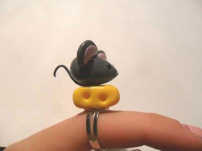 anello topo-formaggio
