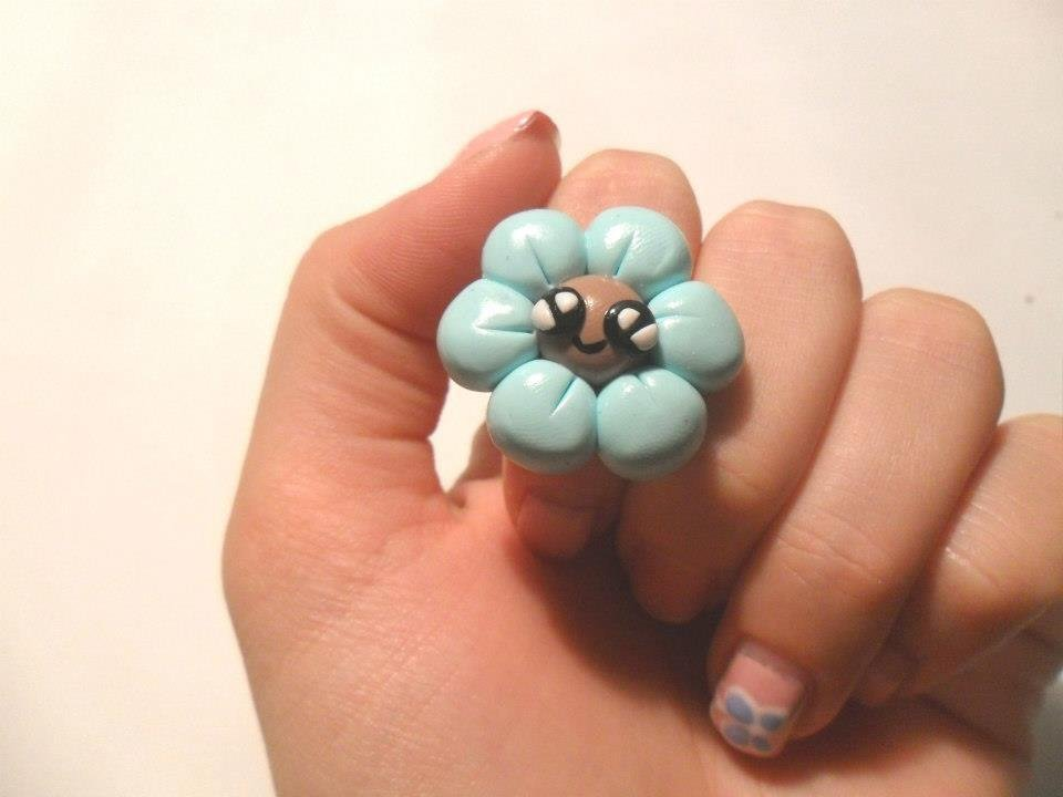 anello funny flower