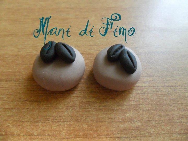 orecchini tortini al caffè