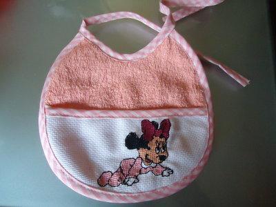 Bavetta ricamata Minnie