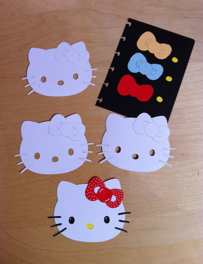 Kit x realizzare n.3 HELLO KITTY