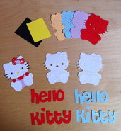 Kit x realizzare n.2 Hello Kitty