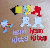 Kit x realizzare n.2 Hello Kitty - arcobaleno