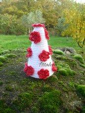 alberello segnaposto con fiorellini