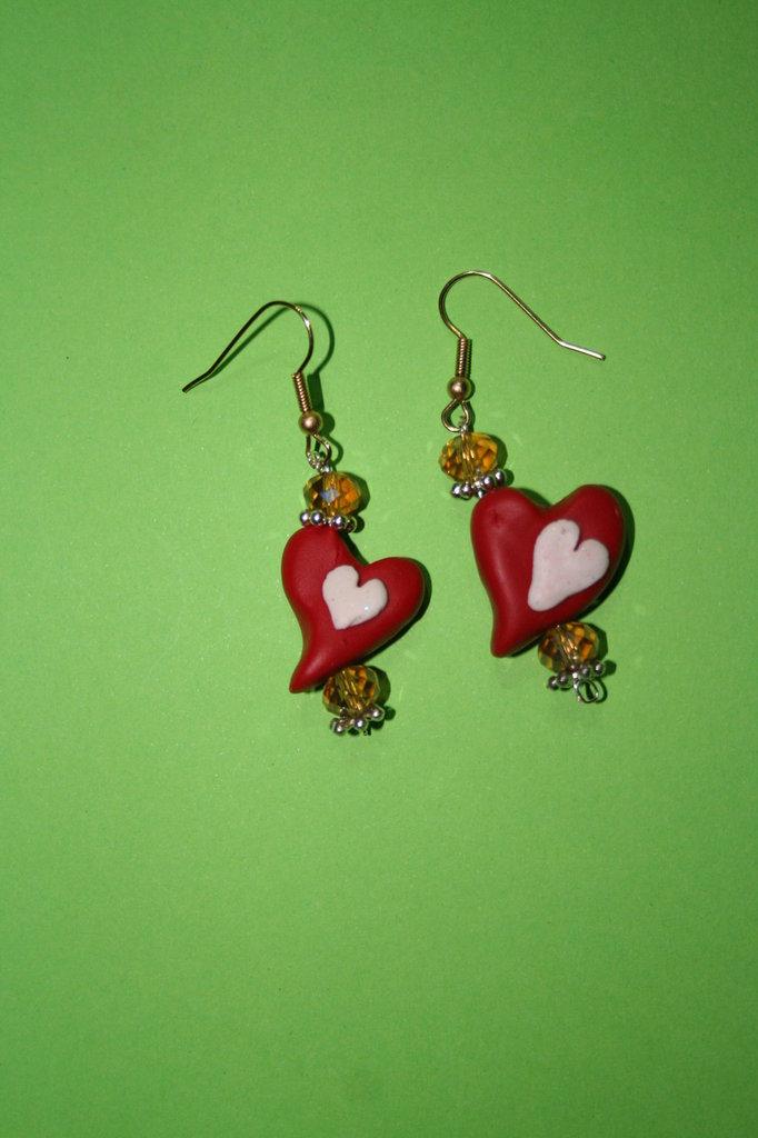 (cod. 00006) orecchini dolce cuore
