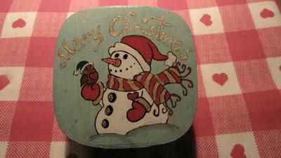Scatolina natalizia quadrata 003