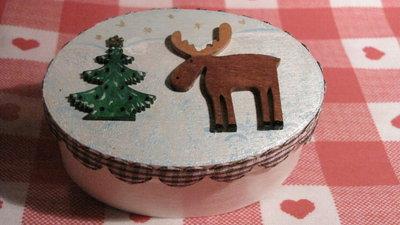 Scatolina natalizia ovale 004