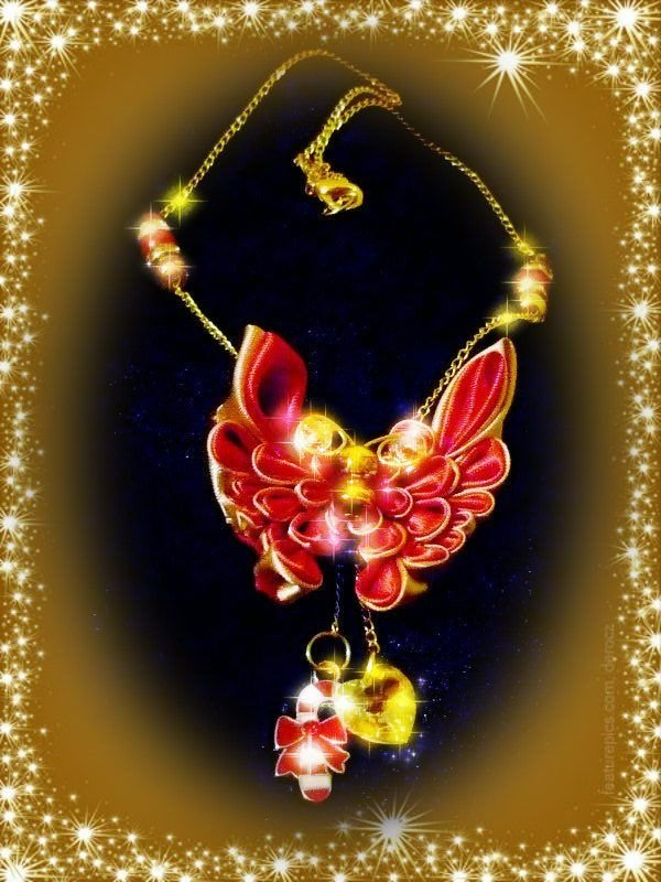 CHRISTMAS BUTTERFLY NECKLACE