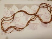 Necklace bronzo