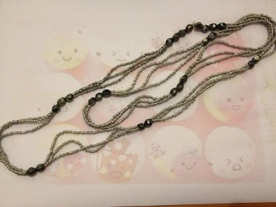 Necklace grey