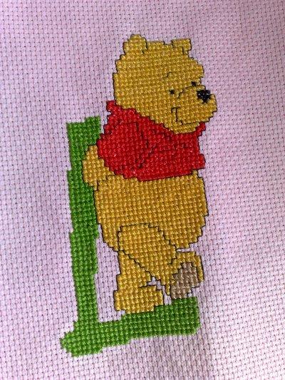 """Iniziale """"winnie the pooh"""""""