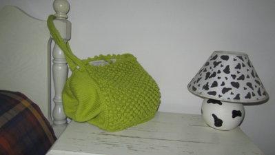borsa in lana fatta a mano