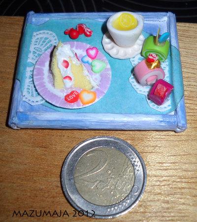 Miniatura colazione