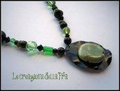 Ecocollana perle (verde-nera)