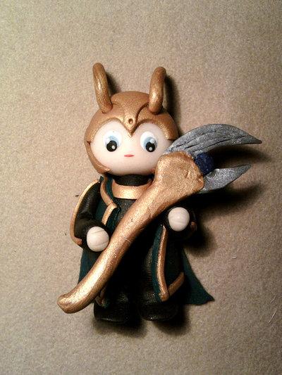 Ciondolo Loki fimo