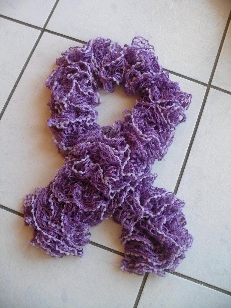 sciarpa arricciata