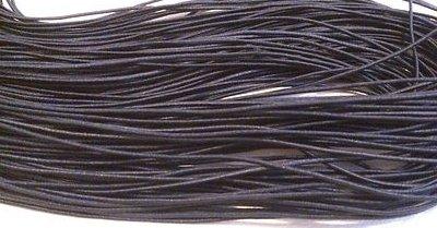 10 Metri Cotone cordino nero 1mm- BIGIOTTERIA PERLINE CREAZIONI HANDMADE