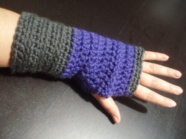 Guanti crochet senza dita Pattern
