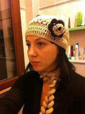 Pattern Sciarpa e cappello Marlene