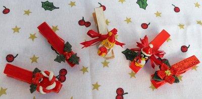 Mollette decorate natalizie