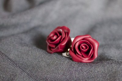 Orecchini roselline