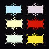 Frame Back Ornate #6 - cartoncini fustellati