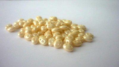 Preciosa Twin® nuove colorazioni  Crystal Shell (avorio perlato) cod. 46113
