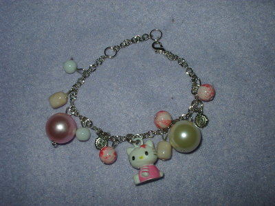 Bracciale Hello Kitty rosa