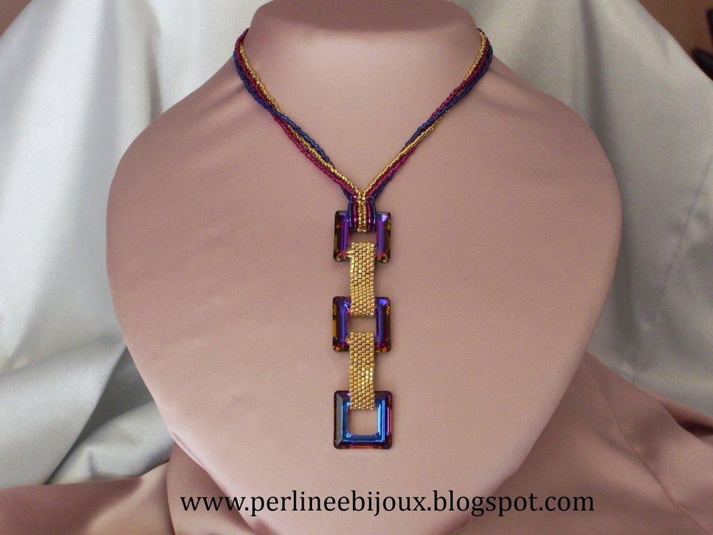Collana con cristalli Swarovski