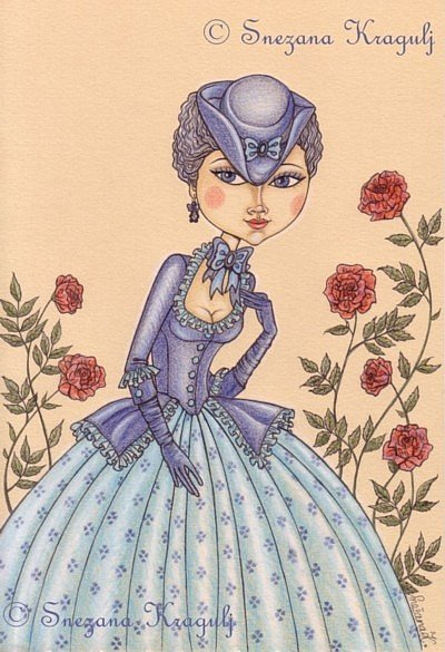 Rose-Marie  Illustrazione originale