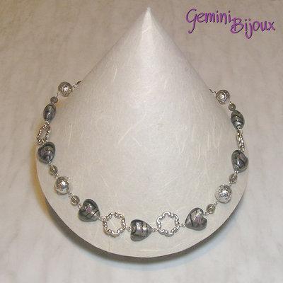 Collana cuori Gray