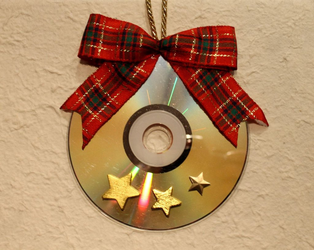 CD decorazione Natalizia