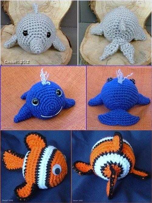 Tutorial GATTINI amigurumi all'uncinetto - crochet little cats ... | 669x500
