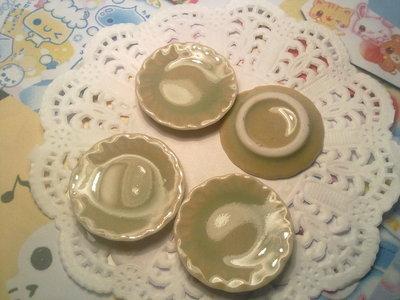 Piatto in ceramica 25 mm