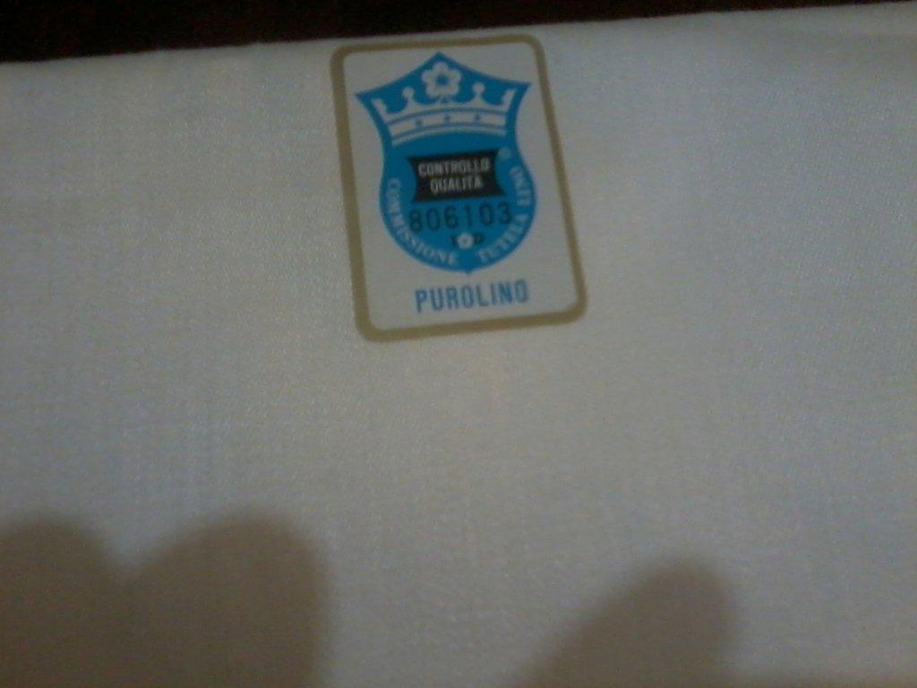 2 asciugamani in fiandra di lino bianchi  SALDI!!!