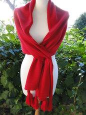 stola - sciarpa  in lana merinos