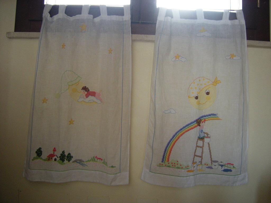Tende cameretta bimbo bambini cameretta di creazioni - Tende per finestre cameretta ...