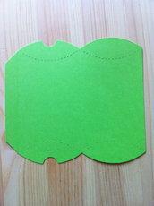 Kit per la realizzazione di scatoline Box Pillow in cartoncino