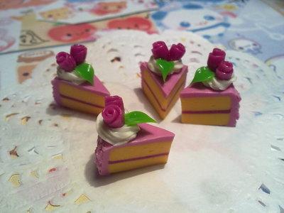 Fettina di Torta in fimo