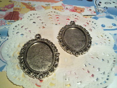 Cammeo argento tibetano
