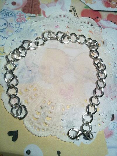 Base braccialetto maglia rombo