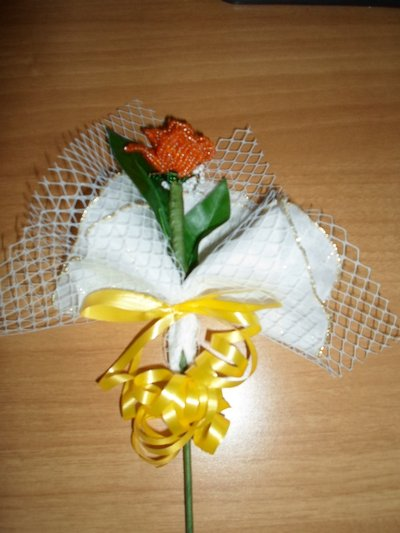 fiore  portaconfetti
