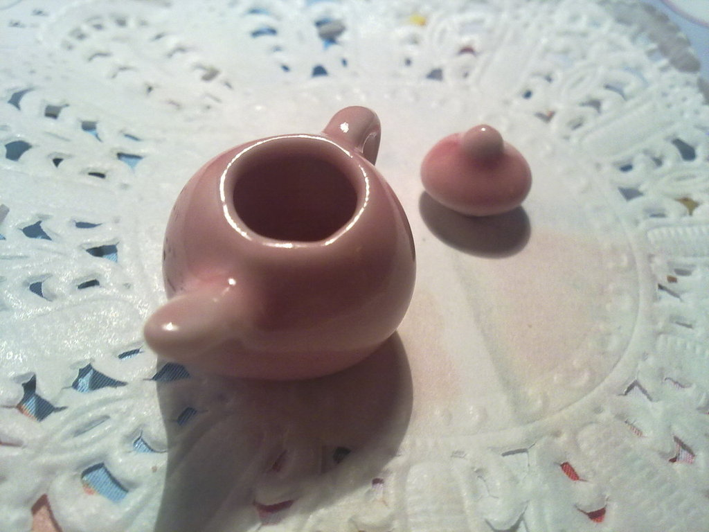 Teiera in miniatura