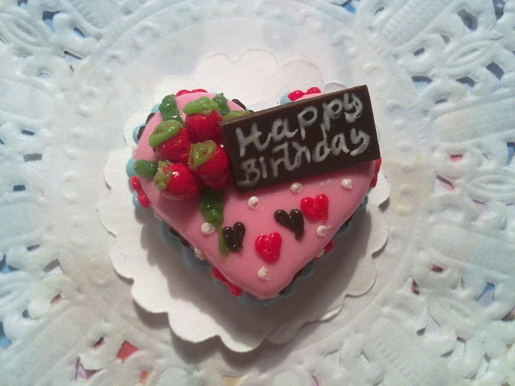 Miniatura torta cuore compleanno