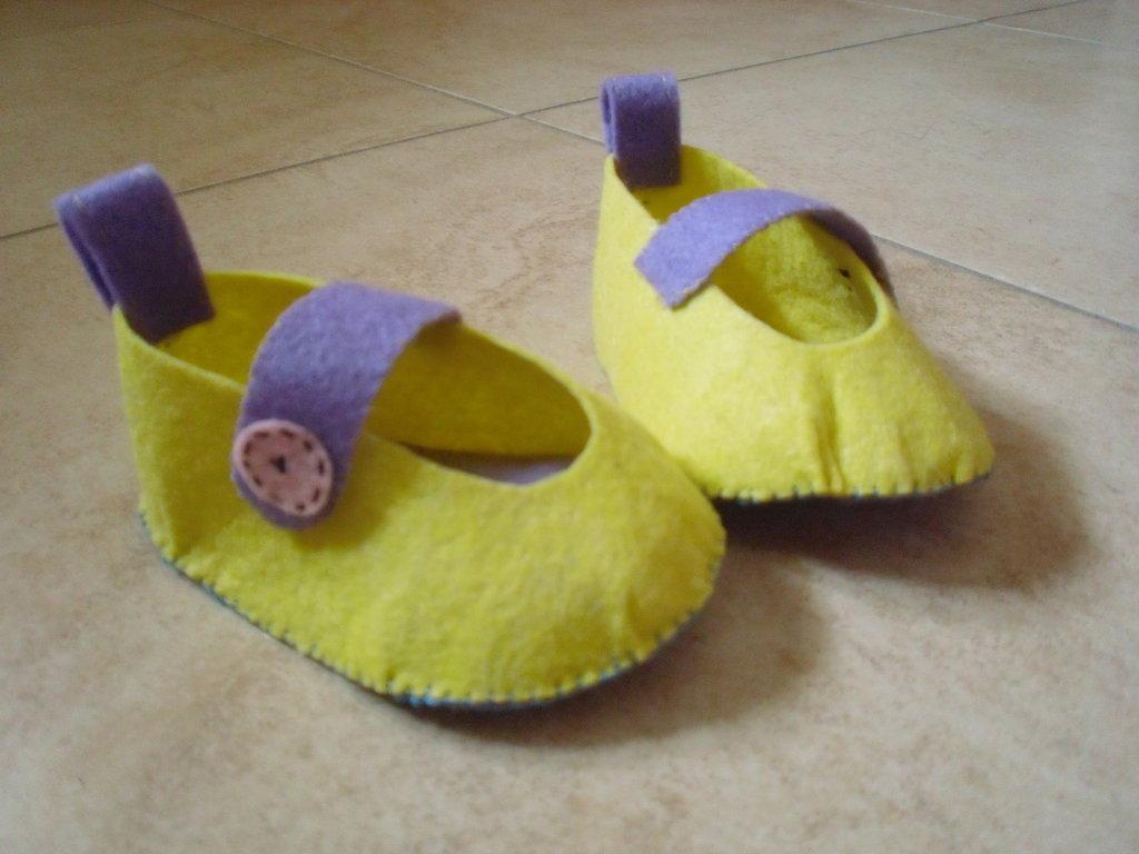 pantofoline di feltro